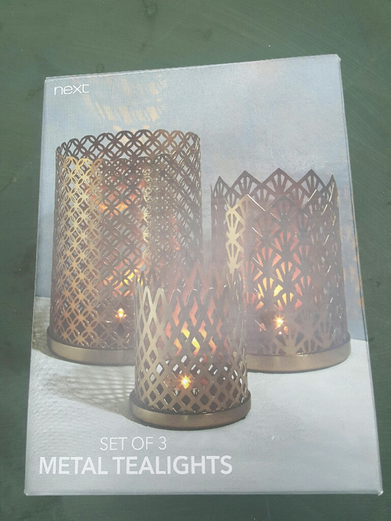 Beautiful Tealight Holders