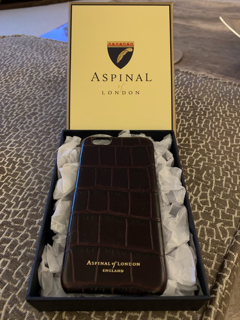 Aspinal of London iPhone 7 Leather case