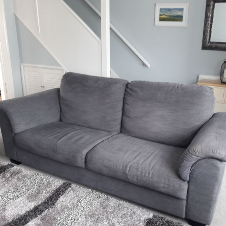 Tidafors 3 seater sofa- Hensta Grey