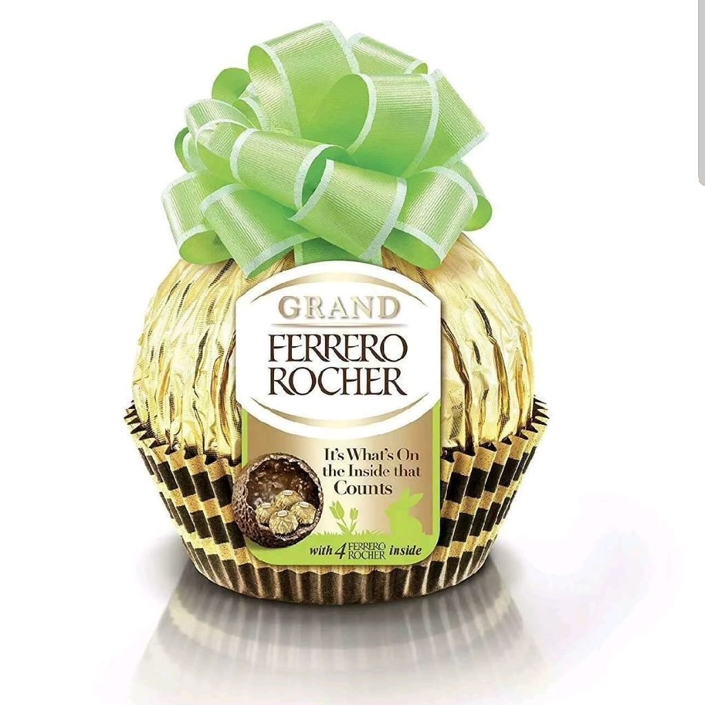 GRAND Ferrero Rocher. 240g and four chocolates. Double the size of supermarket stock.