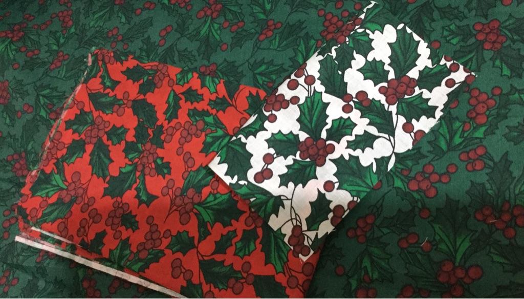 Fabric xmas design