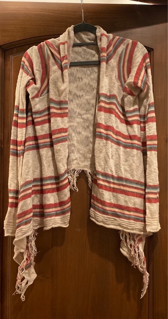 Urban Outfitters Fringe Cardigan