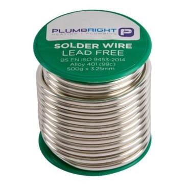 Plumbright solder lead free