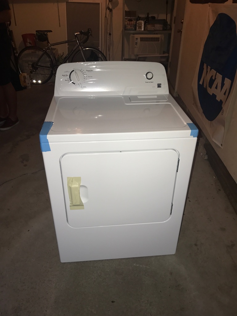 Kenmore Gas/Electric Dryer