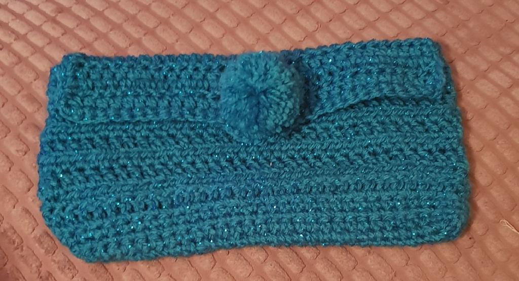 Handmade crochet case