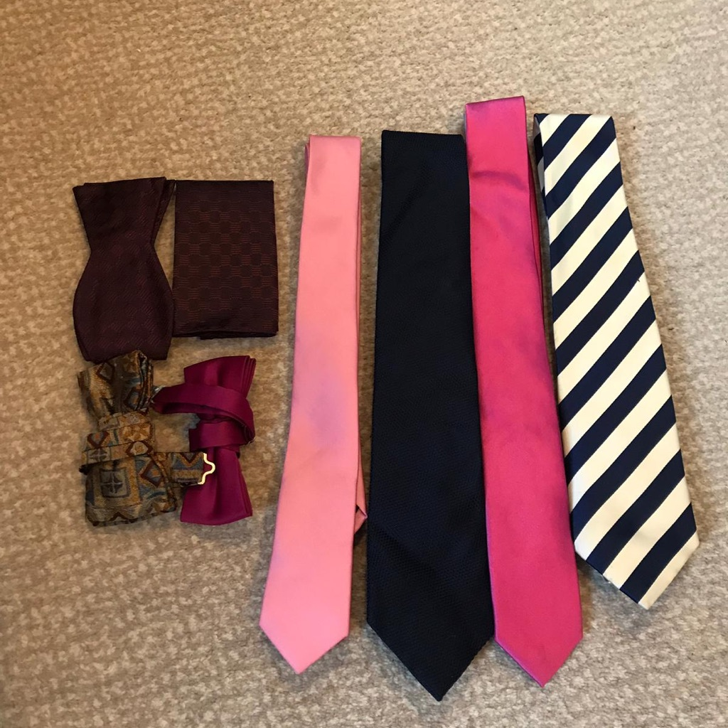 Selection if ties and bow ties