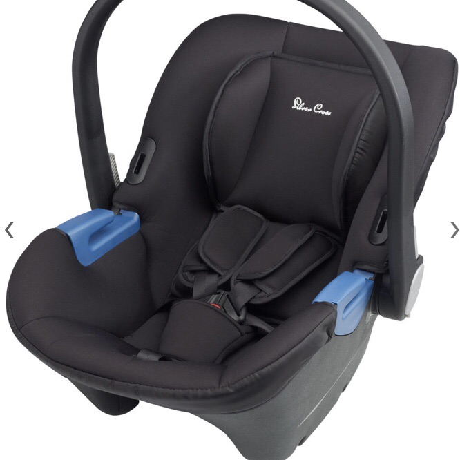 Silver Cross Simplicity 0+ Group car seat with hood