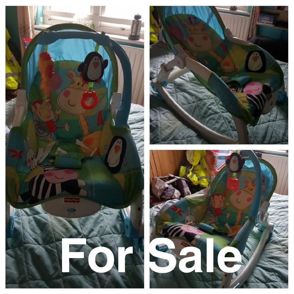 Fisher Price Baby Bouncer Rocker Chair