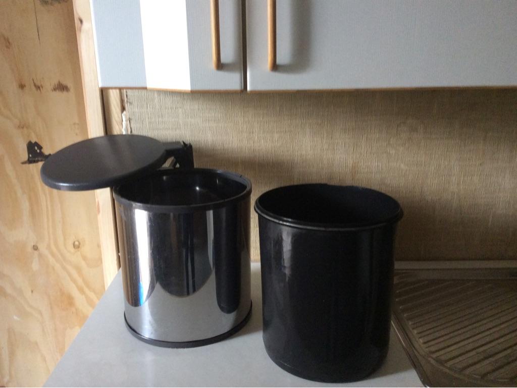 Kitchen bin - Hailo - fitted