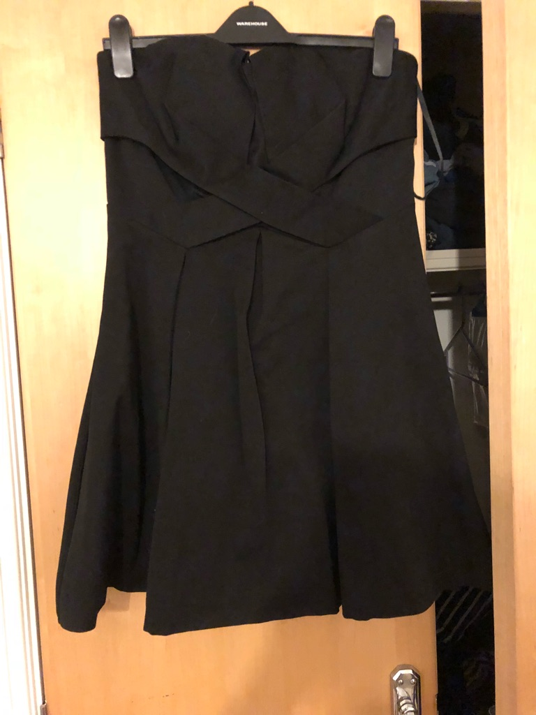 Black Warehouse Dress, 14