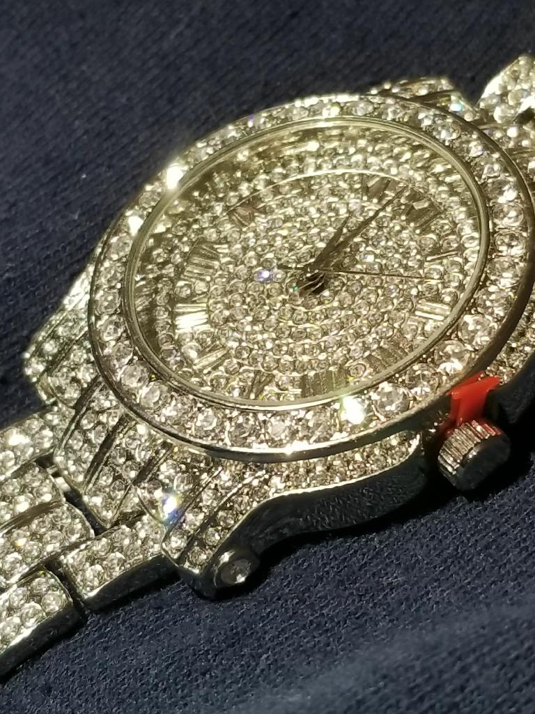 Synthetic diamond watches