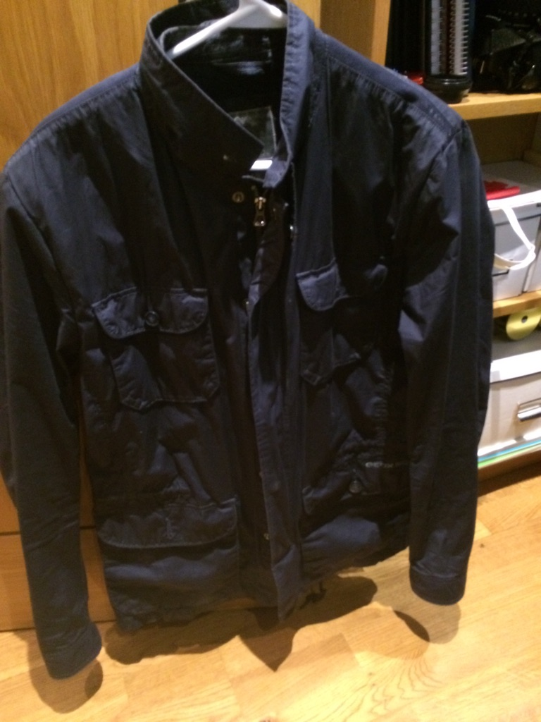 Men's Geox Jacket - Blue