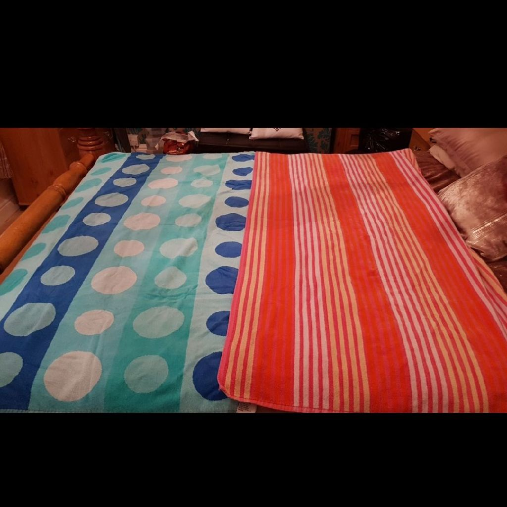 His & Hers Beach Towels