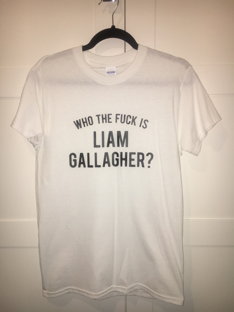 Liam Gallagher/Oasis T Shirt