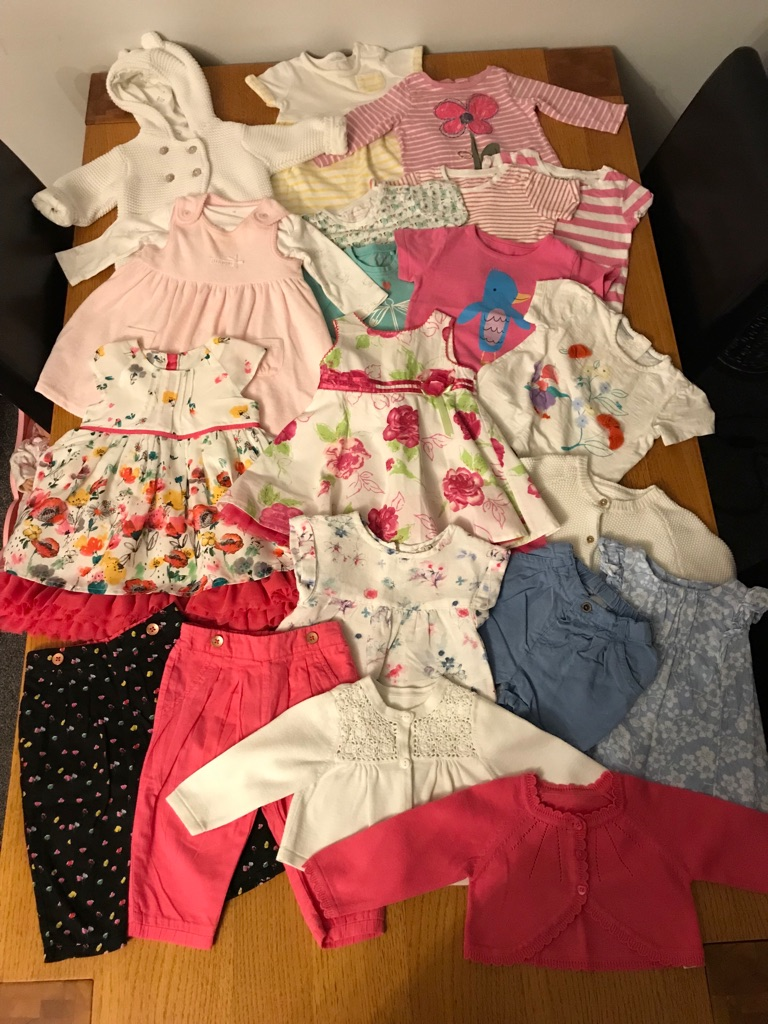 Baby girls 3 to 6 month bundle