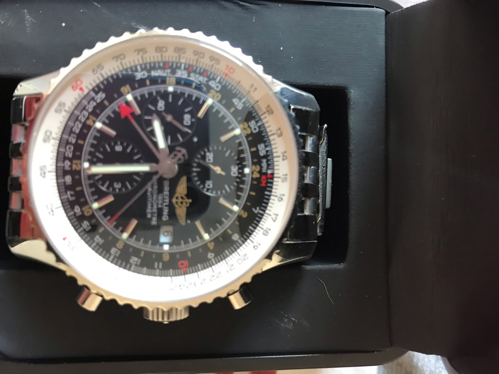 Real BREITLING watch