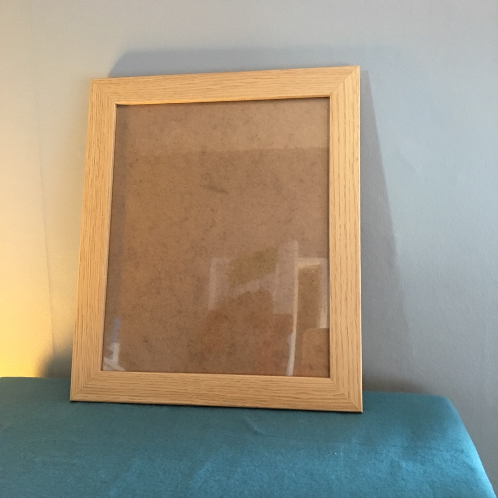 10x8 Inch Beech Style Photo Frame