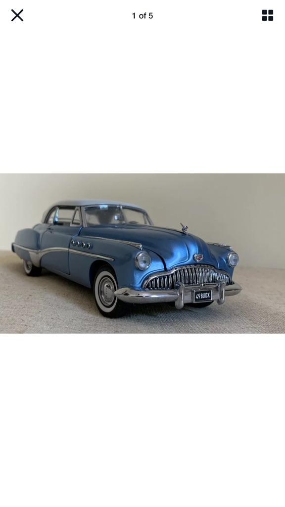 Franklin mint 1949 Buick Riviera