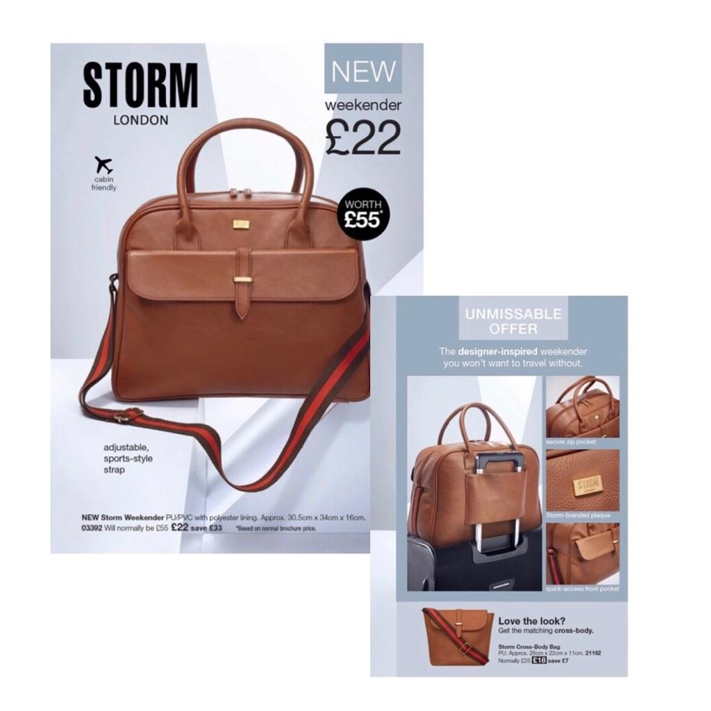 Storm weekender bag