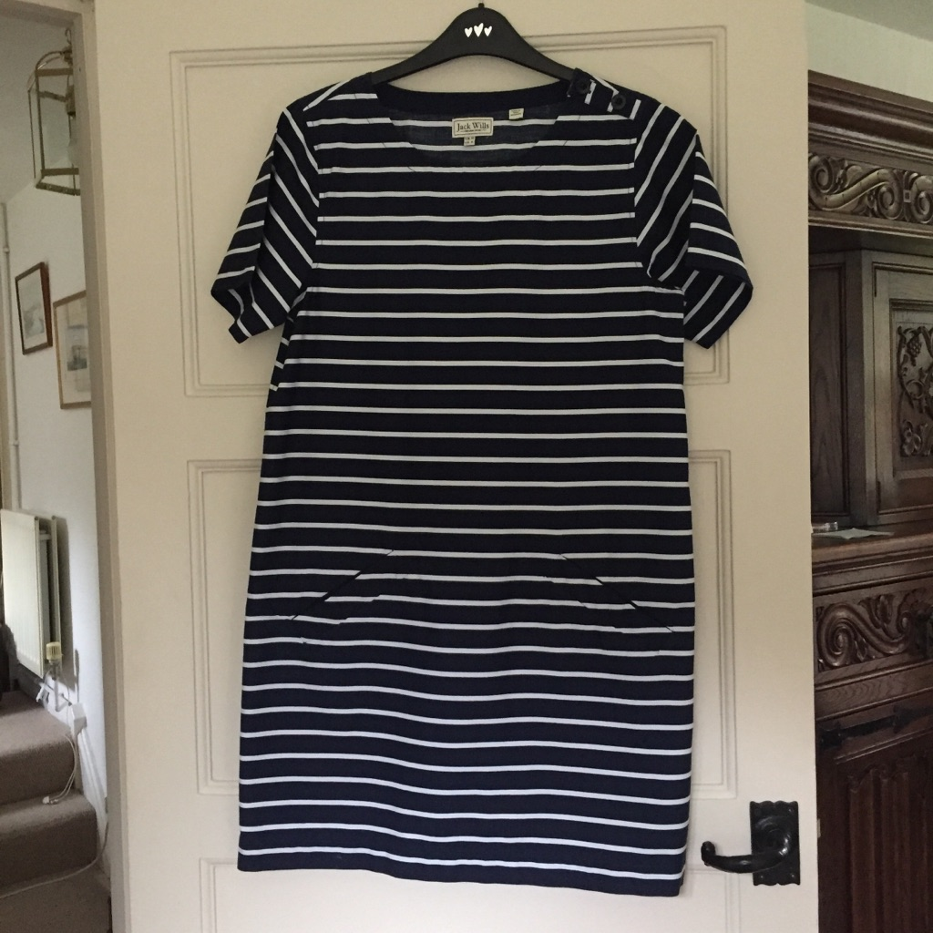 Jack wills stripy dress brand new no tags size 10
