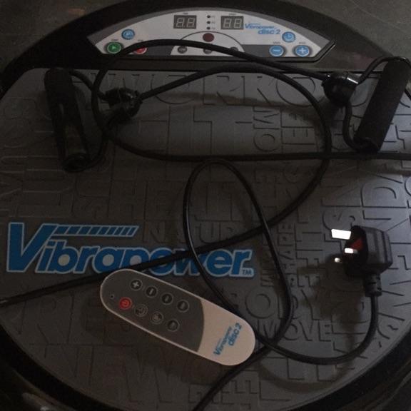 Vibropower fitness vibration machine