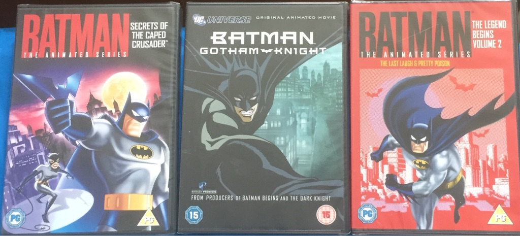 X3 batman DVD's brand new and factory sealed