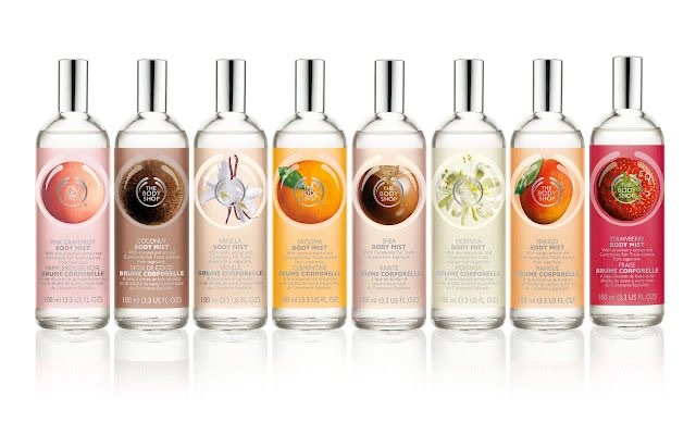 Body Shop products / your local body shop consultant