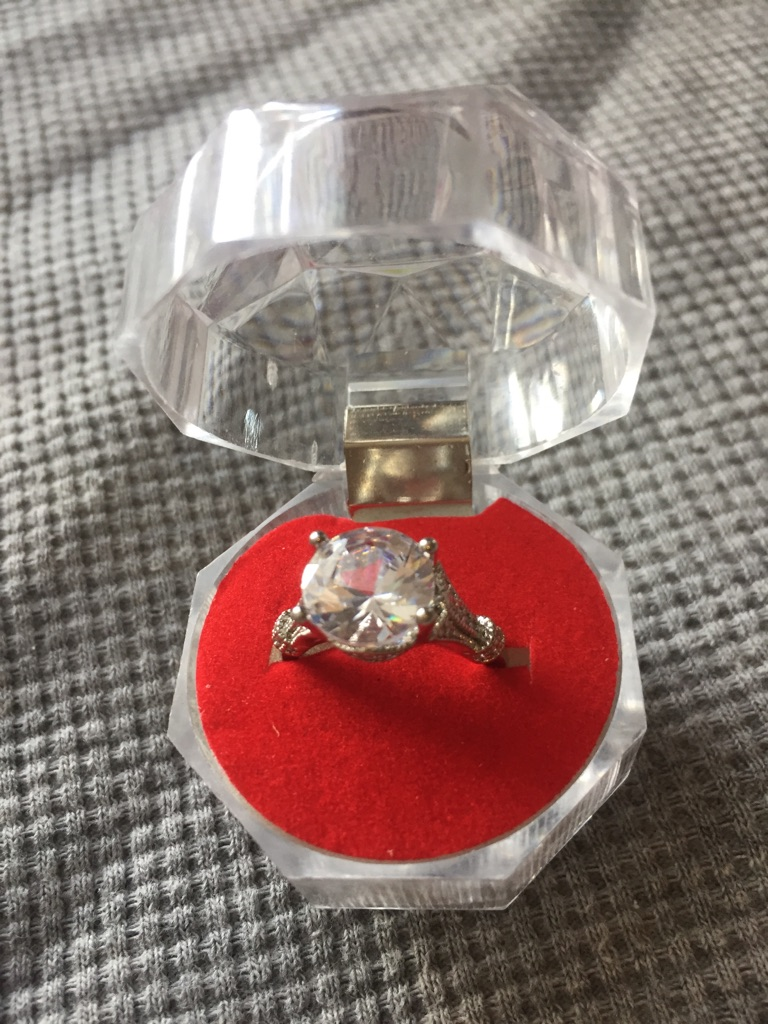 Solitaire ring size 6