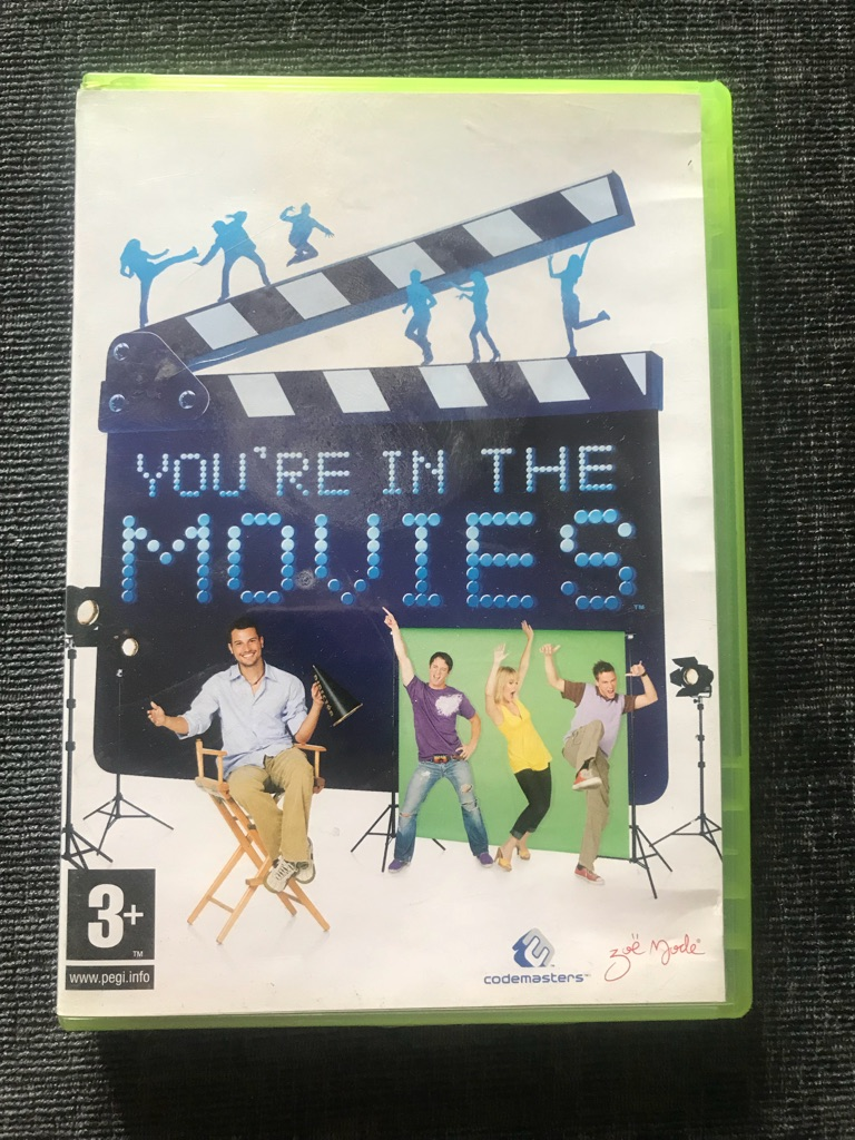 You're in the movies Xbox 360 game