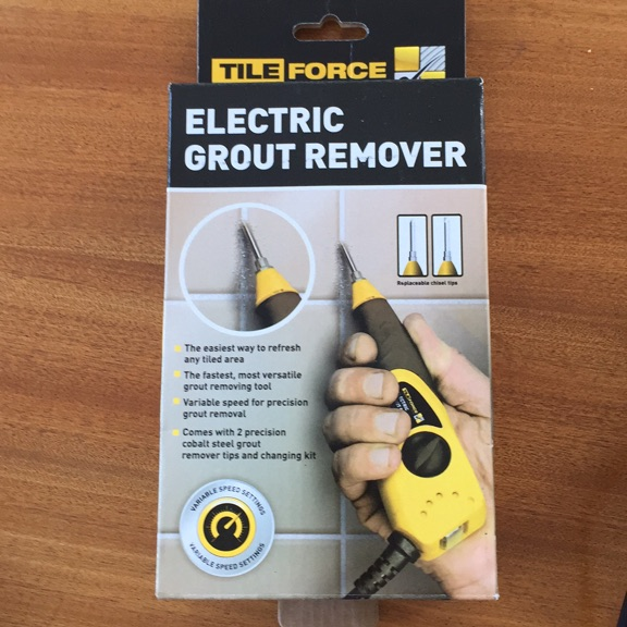 Electric Grout Remover