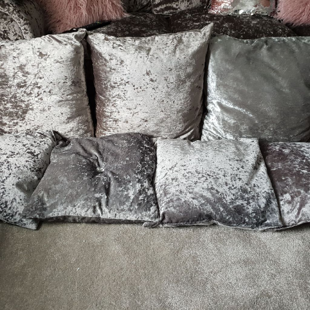 Crushed Velvet Cusions