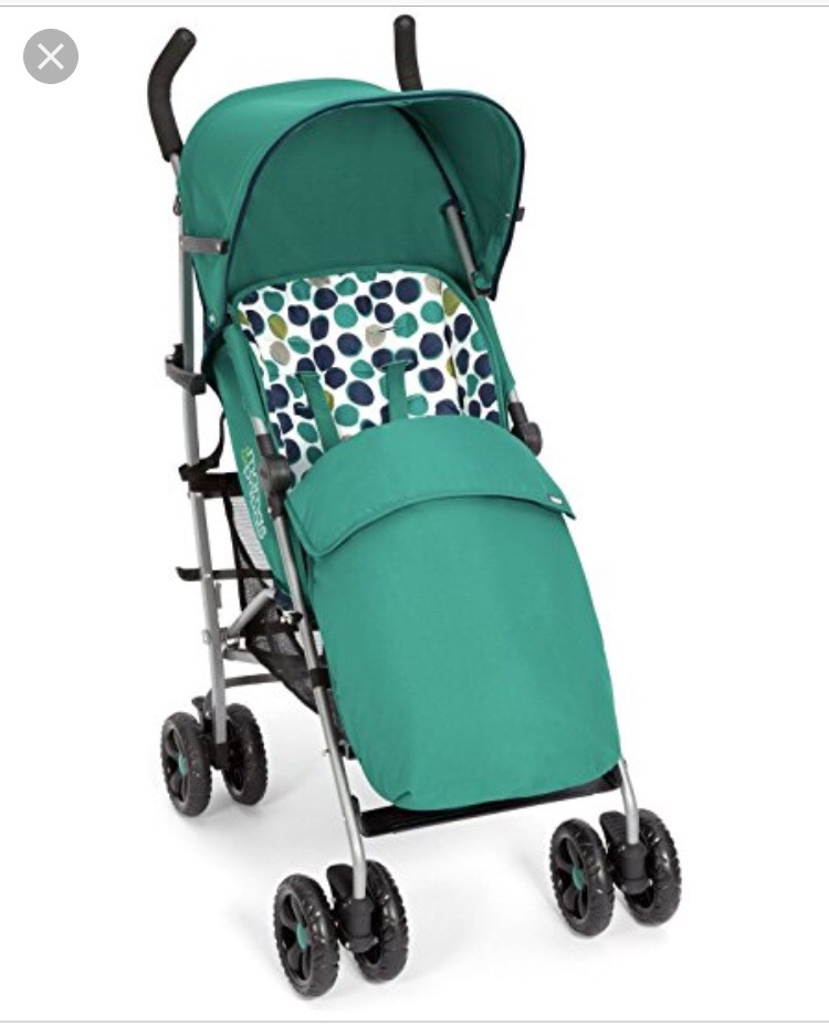 Mamas and Papas stroller and travel cot