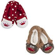 Ladies Xmas slippers
