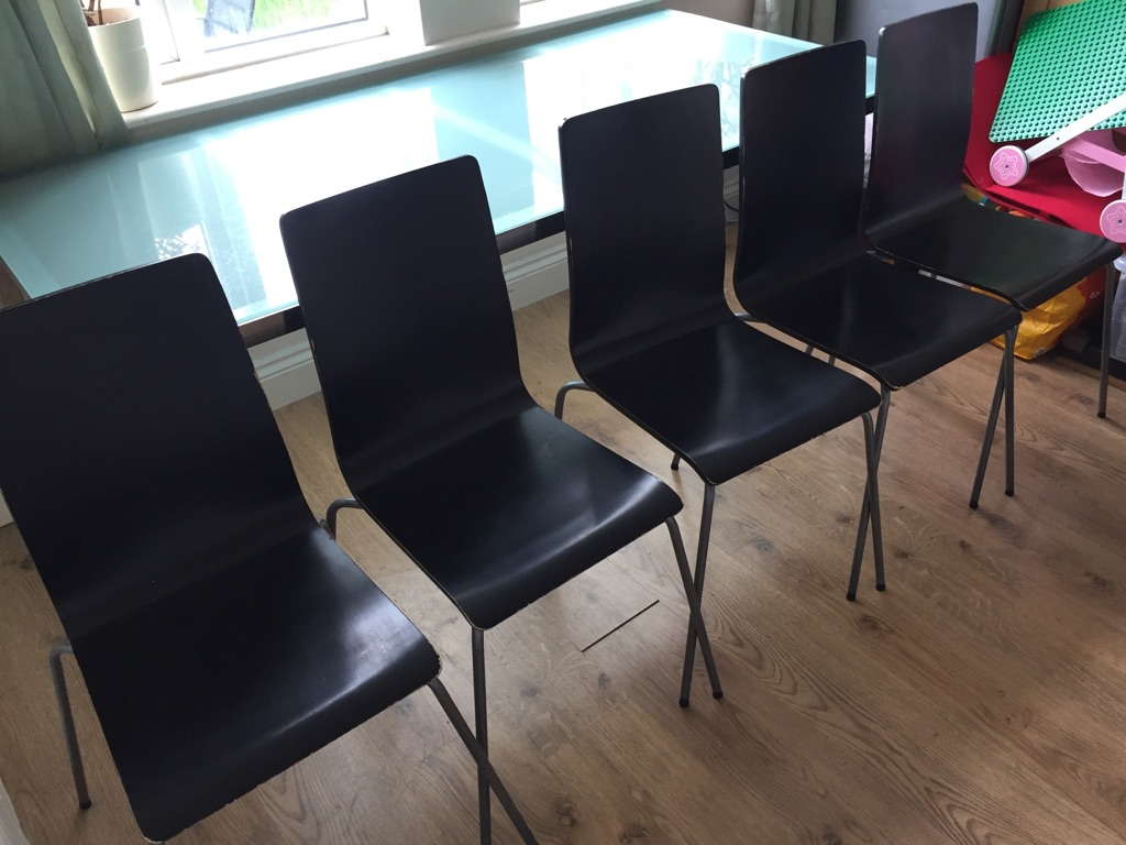 Ikea Dining Table & 5 Chairs