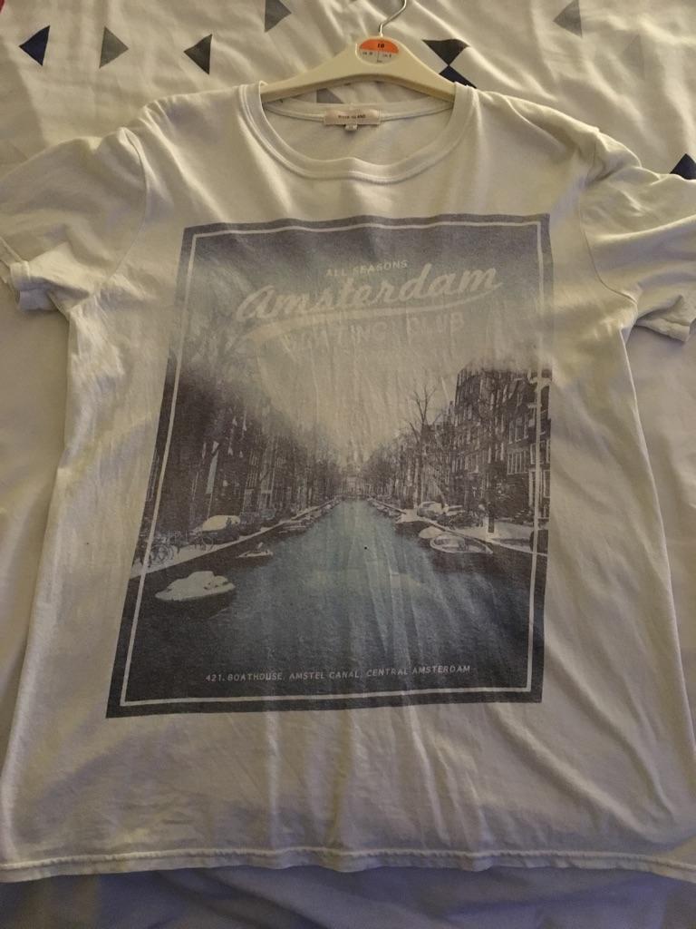 River Island Amsterdam Tshirt