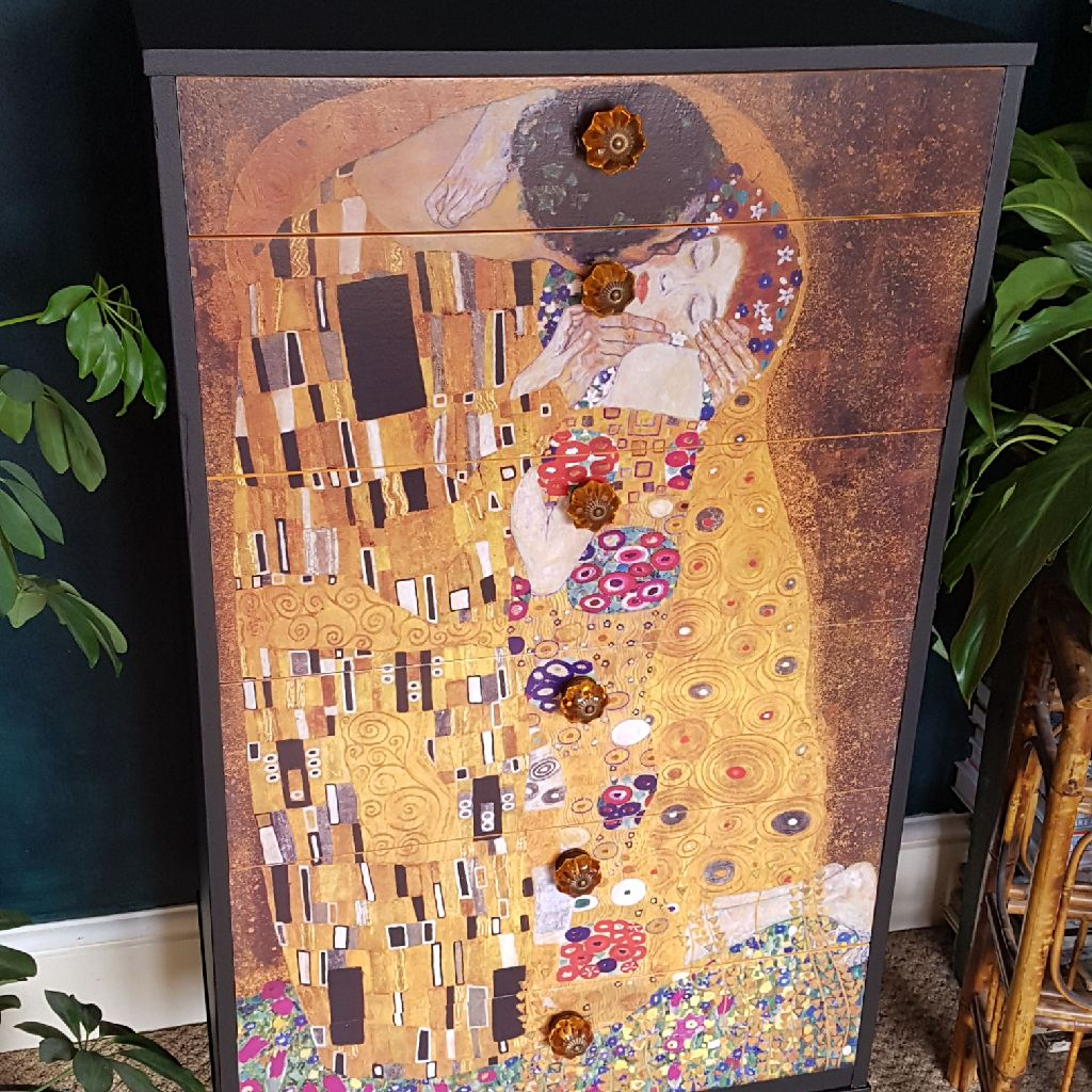 Upcycled vintage Avalon chest of drawers