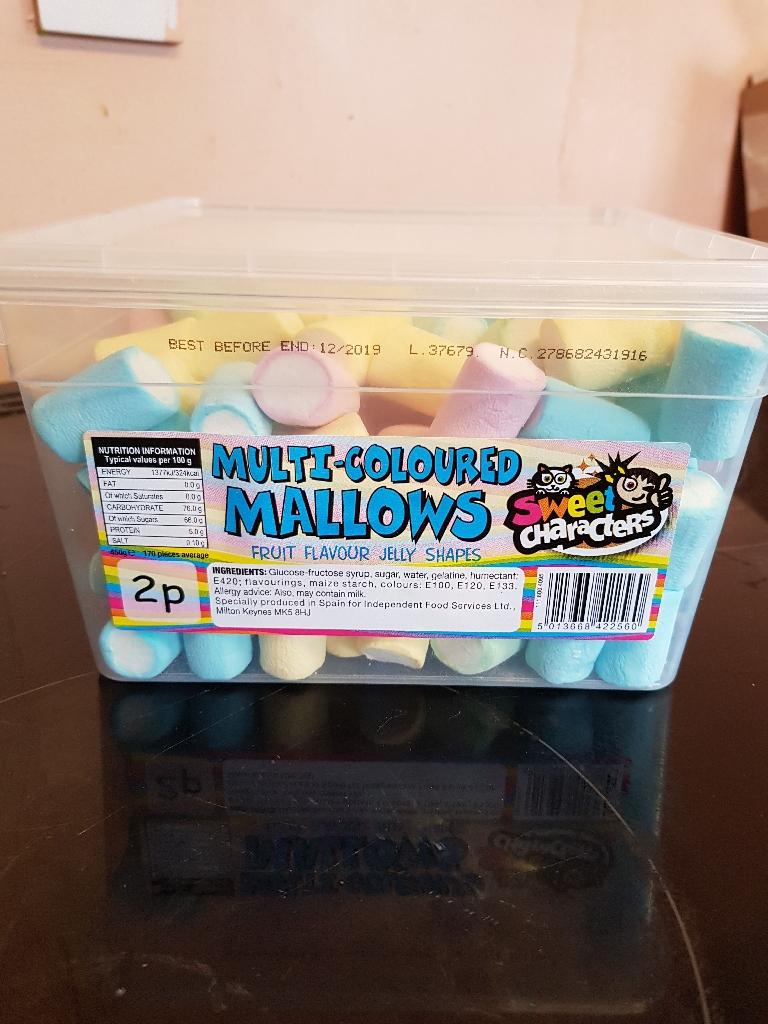 Marshmallow Tubs