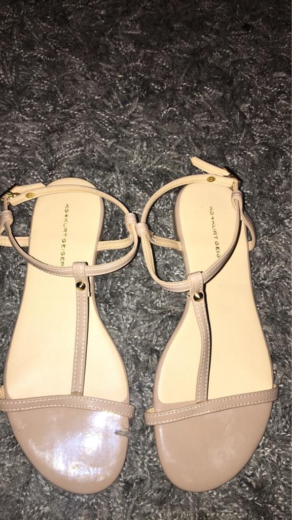 Kurt Geiger Nude Sandals