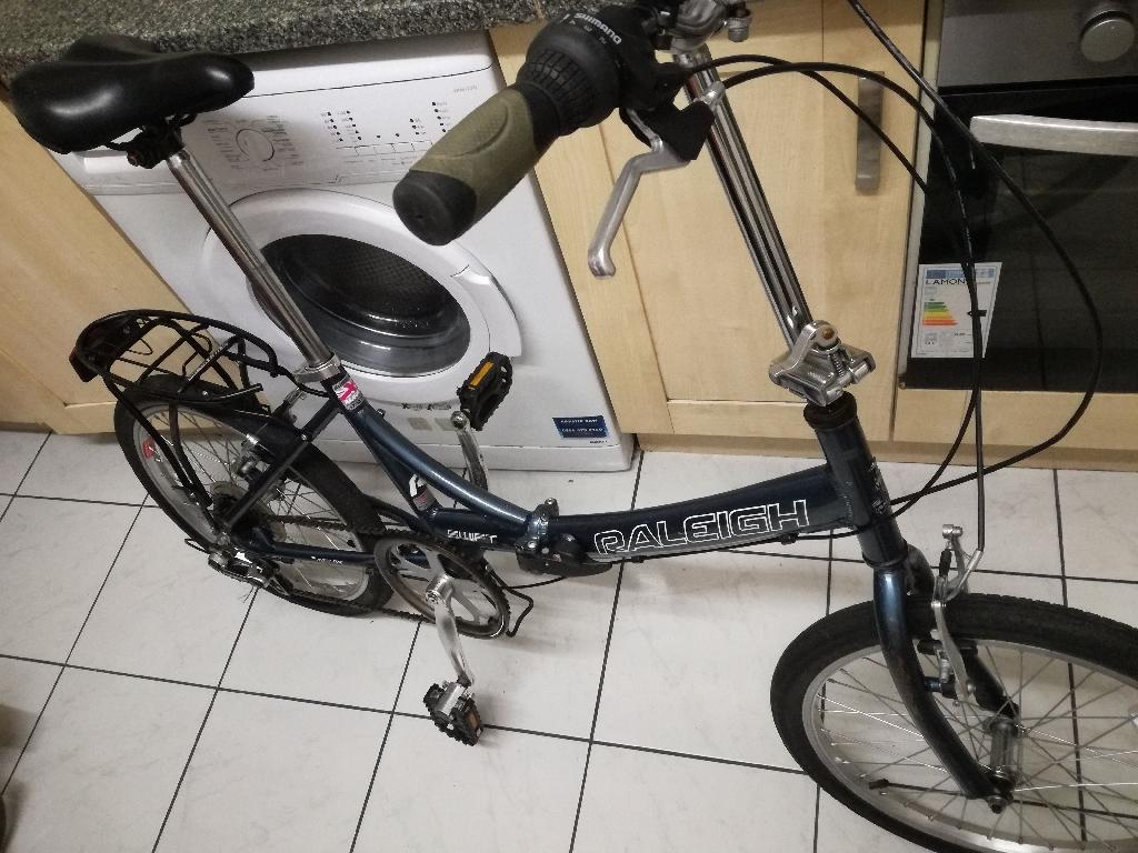 "Folding bike Raleigh 20"""