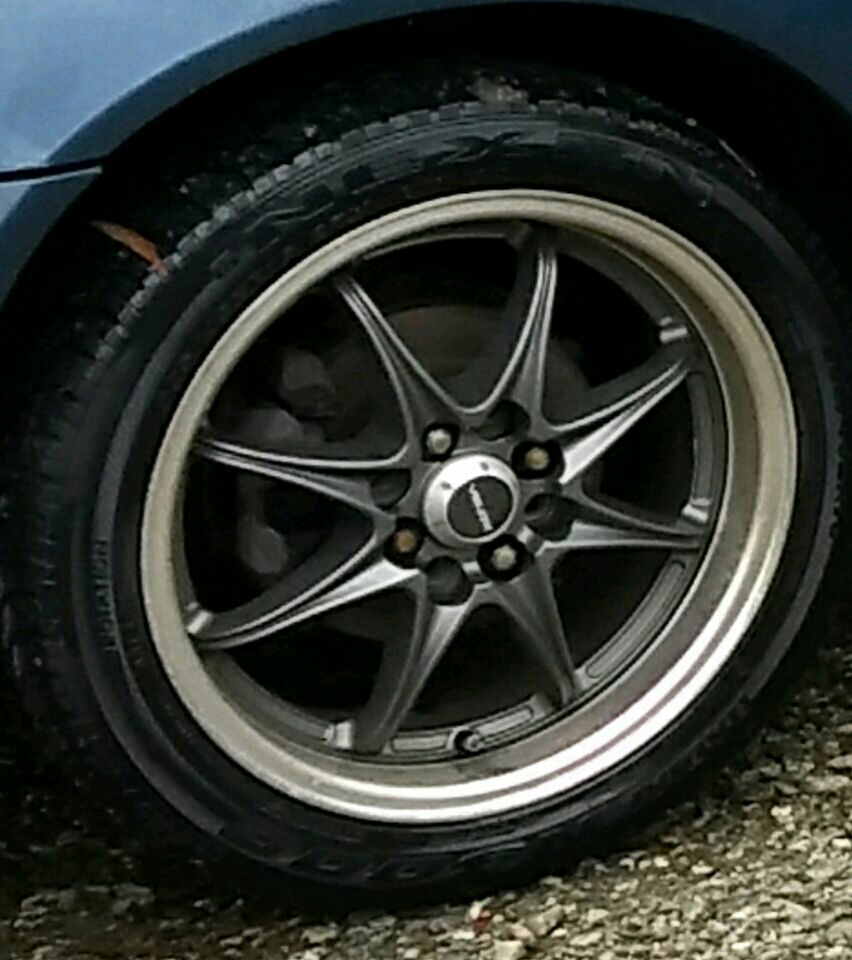 16×8 4 lug wheels