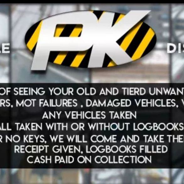 P&k vehicle DISPOSAL SERVICES