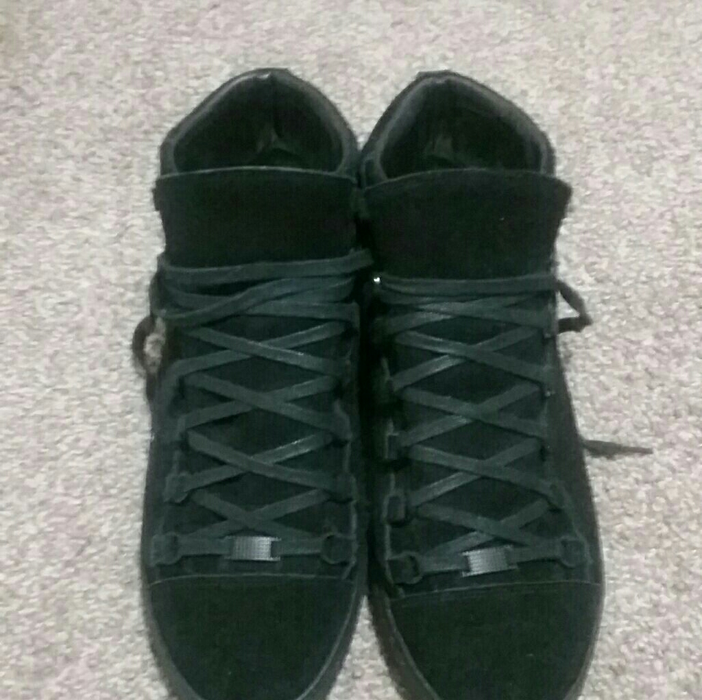 Balenciaga boots for men size 11