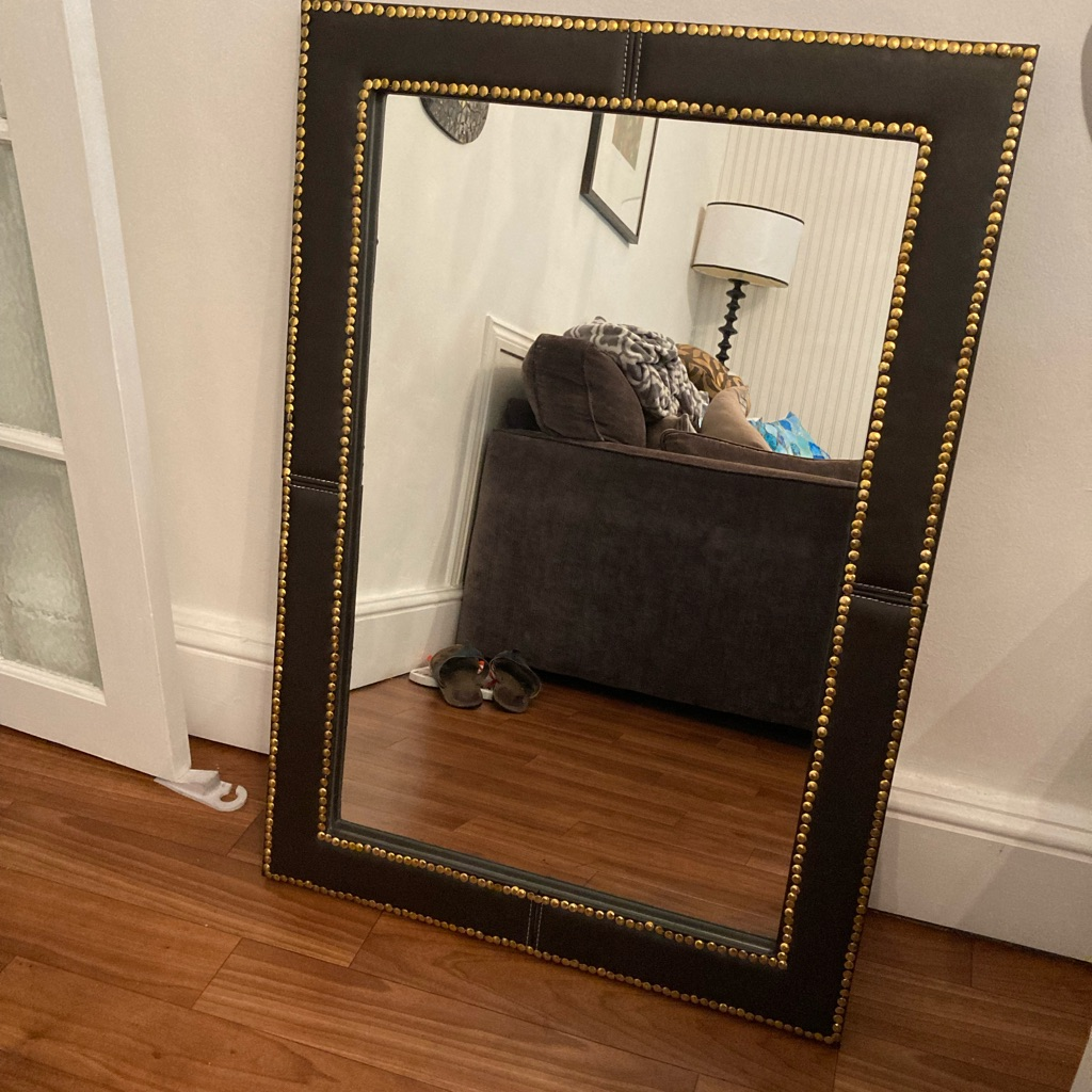 Large wall mirrors  size 93cm by 65cm