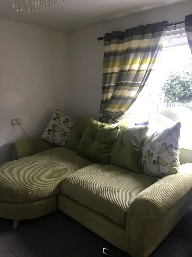 Sofa x2 plus curtains 90/90