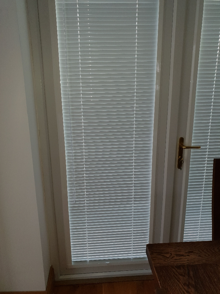 Perfect fit blinds to fit patio door