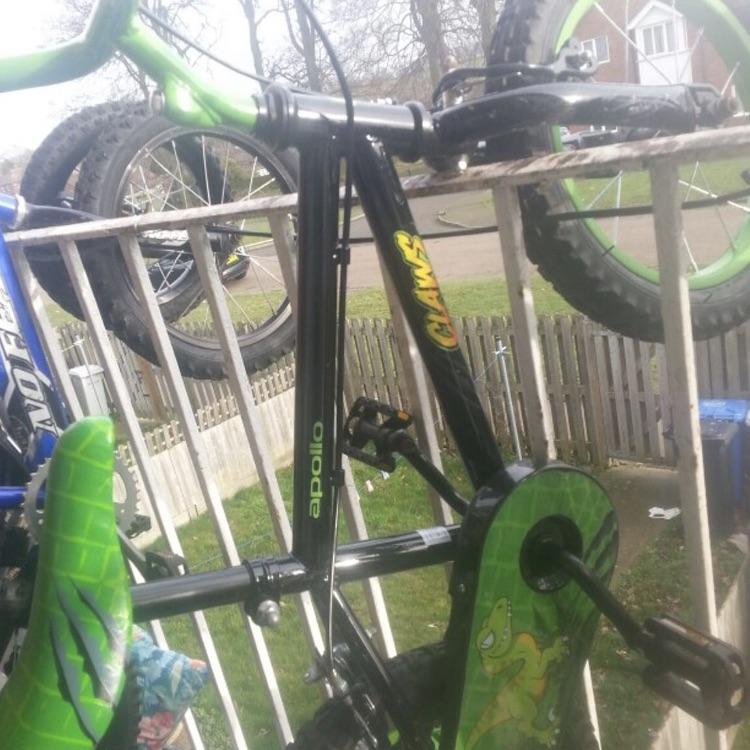 Boys claw bike