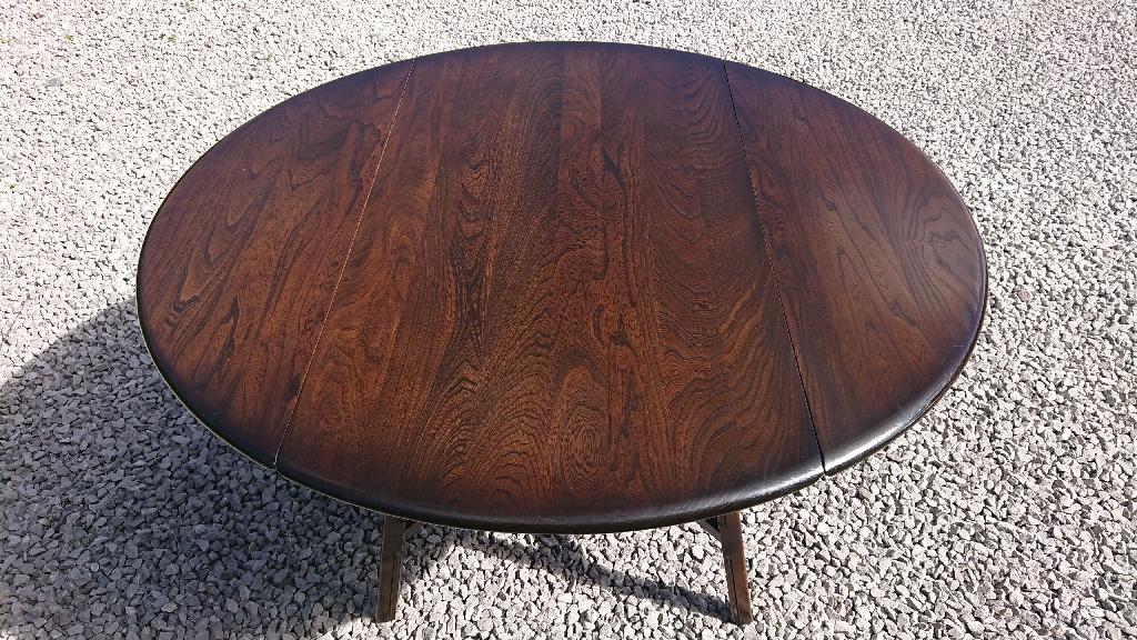 Ercol dropleaf table