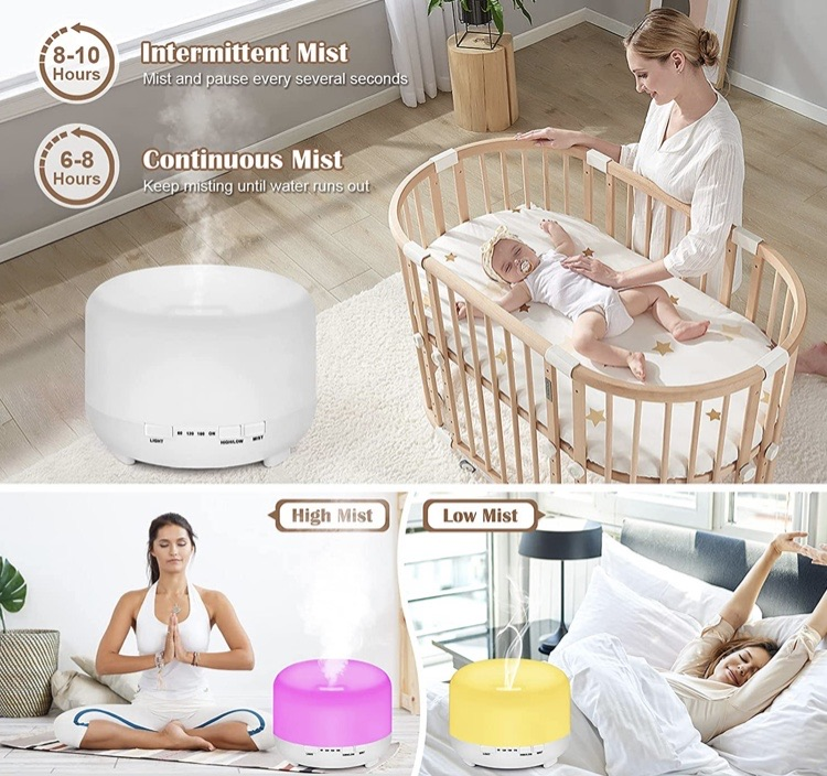 Aromatherapy humidifier diffuser