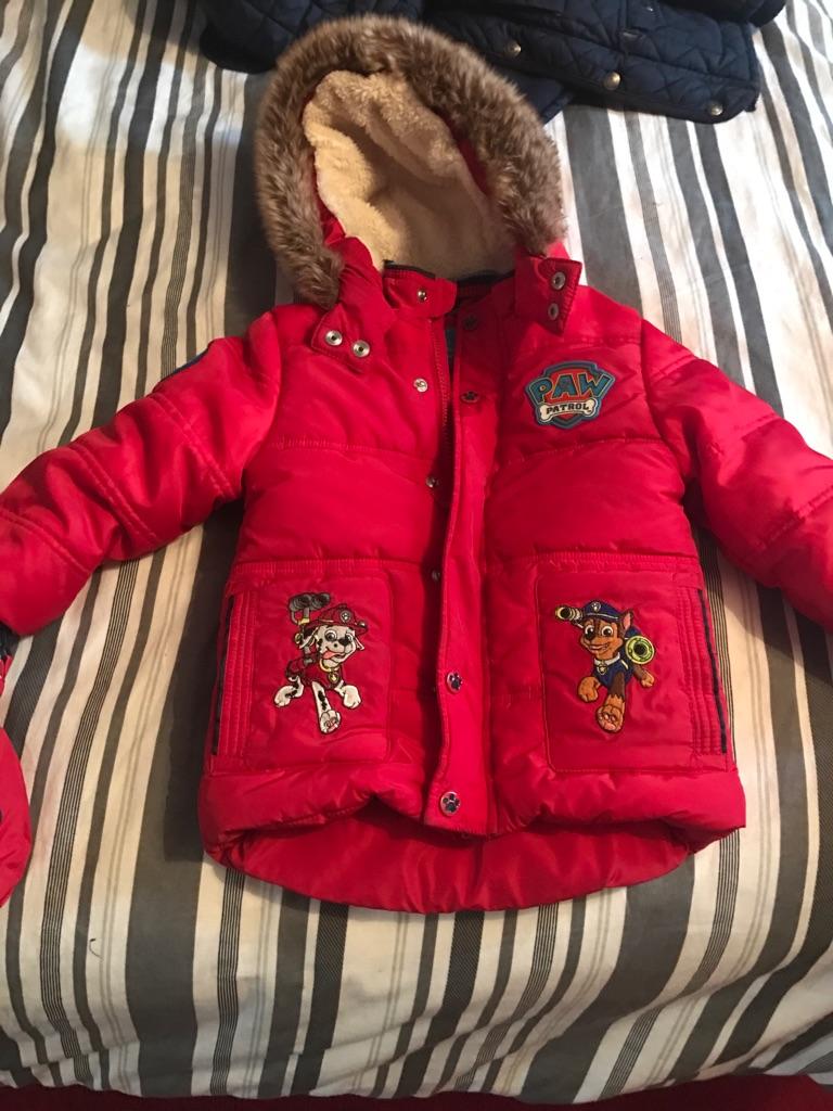 Paw patrol jacket 2-3