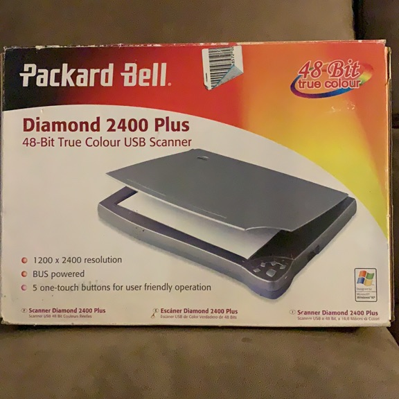Packard Bell 48 bit to colour USB scanner